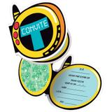 Convite Jovens Titãs 08 unidades Festcolor - Festabox