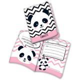 Convite Panda Baby  16 unidades Festcolor - Festabox