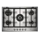 Cooktop a Gás Brastemp Gourmand 5 Queimadores Inox 75Cm 220V BDK75DRBNA
