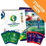 Copas 2019: América+ Feminina-Álbum Capa Cartão+40 envelopes - Panini