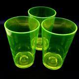 Copo 360ml Acrílico - Drink Cerveja Festa Balada Drink Cup NEON Verde kit com 10 copos - Fábrica de utilidades