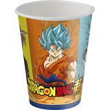 Copo Descartável Dragon Ball Super 08 unidades Festcolor - Festabox