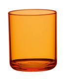 Copo Drink 350ml 06 unidades Acrílico cor amarelo ambar altíssimo padrão Kaballa não descartável