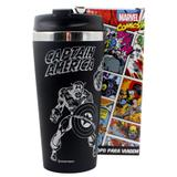 Copo emborrachado comics herois marvel 450ml - Zc
