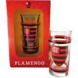 Copo Long Drink 300ml Allmix Flamengo