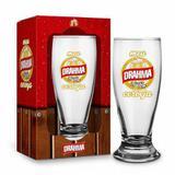 Copo Munich 200ml - Satiras de Cerveja - Meu Drahma é Ficar Sem Cerveja - Brasfoot