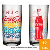 Copo Nadir Coca Cola Summer 390ml Embalagem com 12 Unidades
