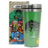 Copo Termico com Tampa - Hulk Comics - Marvel - 450 ML - Zona criativa