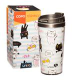 Copo Termico inox Cafe CAT GATO 450ml - Pdv