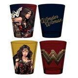 Copos Shot Wonder Woman / Mulher-Maravilha (Set com 4) - DC Comics - Urban