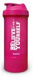 Coqueteleira premium dupla c/mola - believe in yourself - Brasfoot