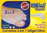 Corretivo para Joanete Siligiel Ultra 3 Em 1 - Orthopauher