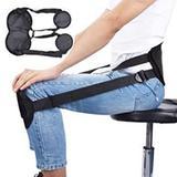Corretor de postura protetor de coluna sentado protecao ajustavel cadeira escritorio cinta de suport - Makeda