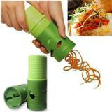 Cortador, Ralador e Fatiador ee Legumes Vegetais Espiral - c - R+