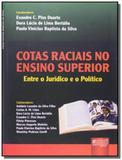 Cotas raciais no ensino superior - entre o juridic - Jurua