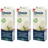 Cottonbaby Curativos Transparentes C/10 (Kit C/03)