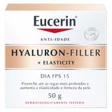 Creme Anti-Rugas Eucerin - Hyalurin Filler Elasticity Dia FPS 15