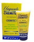 Creme Cicatrizante e Repelente Unguento Chemitec 50G