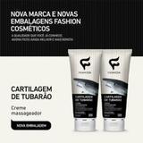 Creme Massageador Cartilagem de Tubarão 200ml Fashion 12 Unidades - Fashion cosméticos