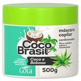 Creme tratamento gota dourada 500g coco e babosa - Sem marca