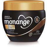 Creme tratamento monange 300g pós química - Sem marca