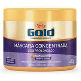Creme tratamento niely gold 430g liso prolongado - Sem marca