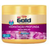 Creme tratamento niely gold 430g mega brilho - Sem marca