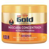 Creme tratamento niely gold 430g nutrição poderosa - Sem marca