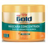 Creme tratamento niely gold 430g óleo argan - Sem marca