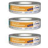 Cremer Esparadrapo Hipoalergênico Transparente 1,2cmx4,5m (Kit C/03)