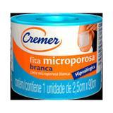 Cremer Fita Micropore Branca 2,5cmx90cm C/12