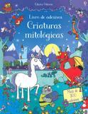 Criaturas Mitológicas: Livro De Adesivos - Editora nobel