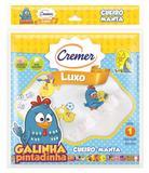 Cueiro Manta De Flanela - Cremer Galinha Pintadinha - Branco - 80x80cm
