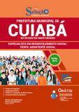 Cuiabá - MT 2019 Especialista em Desenv Social: Assis Social - Editora solução