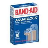 Curativo Band-Aid Aquablock 30 Unidades - Johnson  johnson