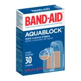 Curativo Band-Aid Aquablock Johnsons 30 Unidades