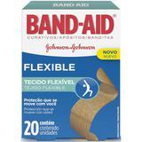 Curativo Band-Aid Flexible 20 Unidades