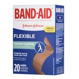 Curativo Band-Aid Flexible Johnsons 20 Unidades