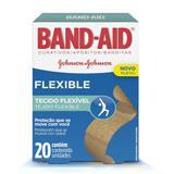 Curativo Band-Aid Flexible Johnsons 20 Unidades