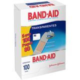Curativo Band-Aid Transp 100un/Pg80