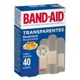 Curativo BAND-AID transparente/ leve 40 pague 30 - Johnson  johnson