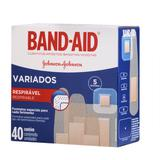 Curativo Band-Aid Variados Johnsons 40 Unidades