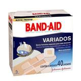 Curativo Band-Aid Variados Johnsons com 40 Unidades - Johnson  johnson