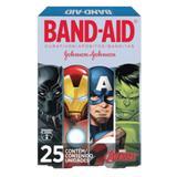 Curativo transparente band aid c/25 avengers - Sem marca