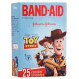 Curativo transparente band aid c/25 toy story - Sem marca