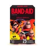 Curativos Band-Aid Os Incríveis - 25 Unidades - Johnson  johnson