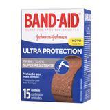 Curativos Band-Aid Ultra Proteção 15 Unidades