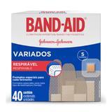 Curativos Band-Aid Variados - 40 Unidades - Johnson  johnson