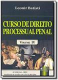 Curso de direito processual penal   vol 4 - Jurua