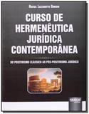 Curso de hermeneutica juridica contemporanea do po - Jurua